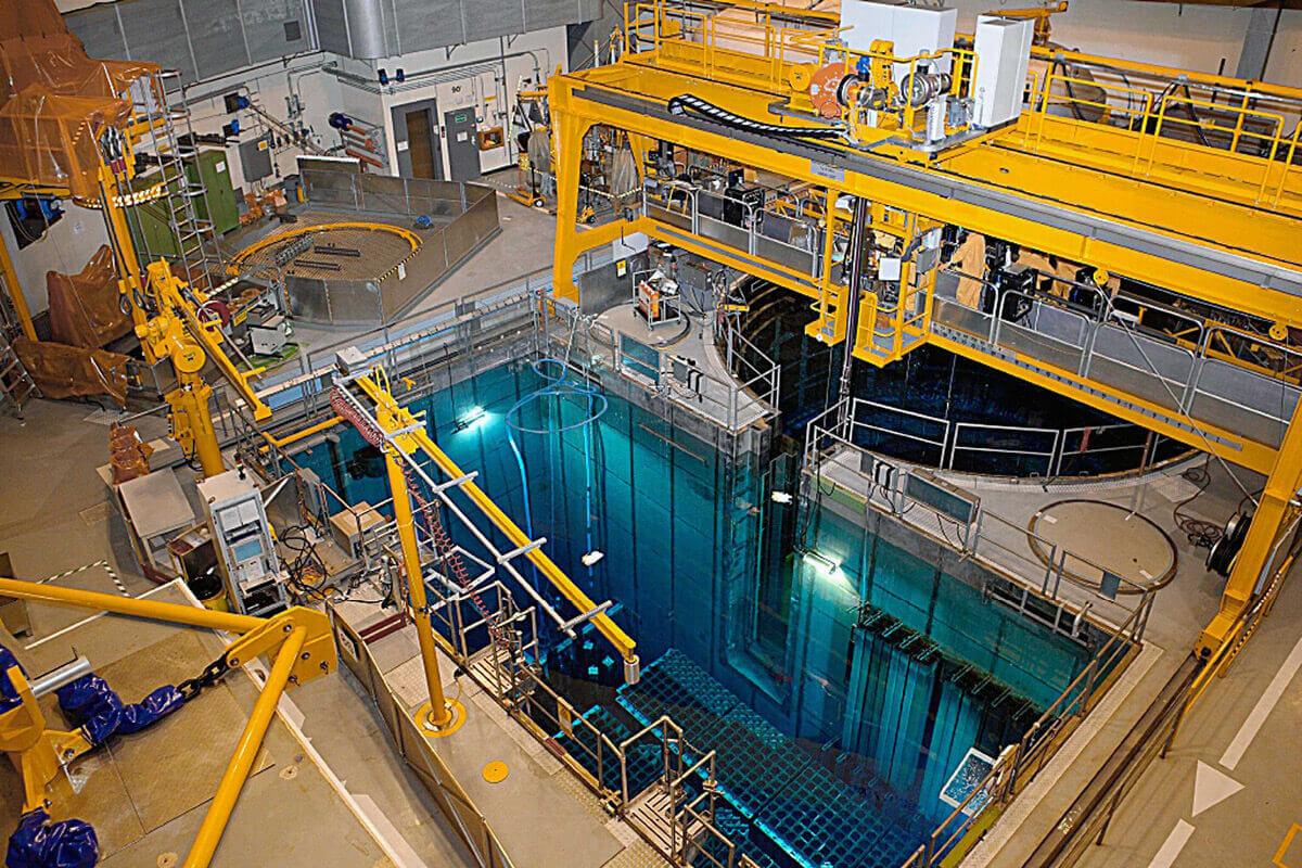 Dans les centrales nucléaires