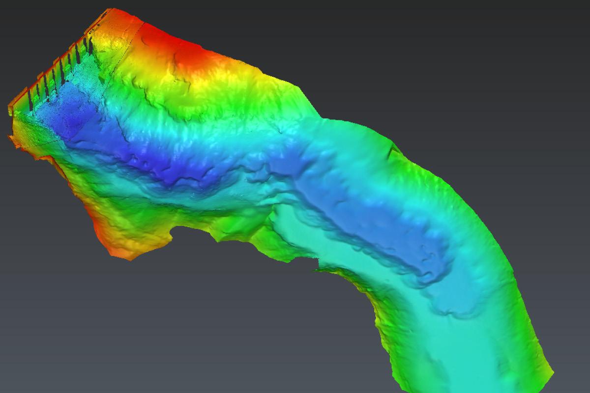 Multibeam – Hydrographie – Fächerecholotung