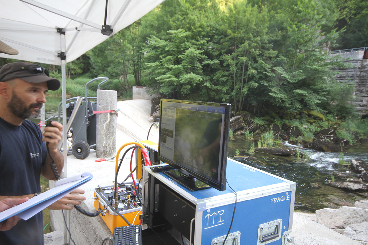 Système d'inspection sous-marine ROV