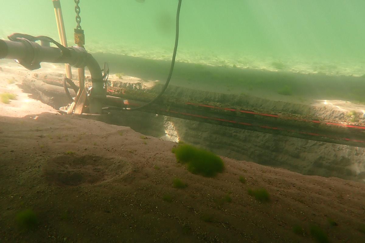 Seeleitungen / Bau von Leitungen unter Wasser