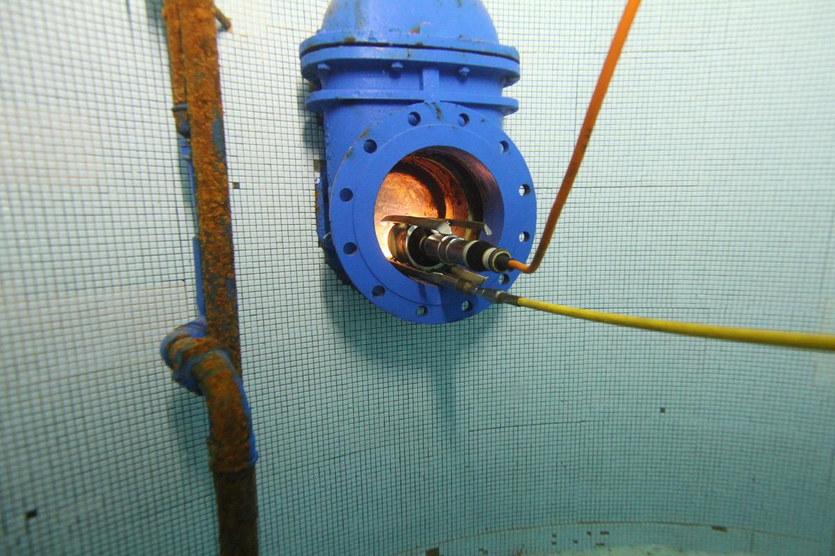 Dans le secteur de l'eau potable, TAF-Taucharbeiten